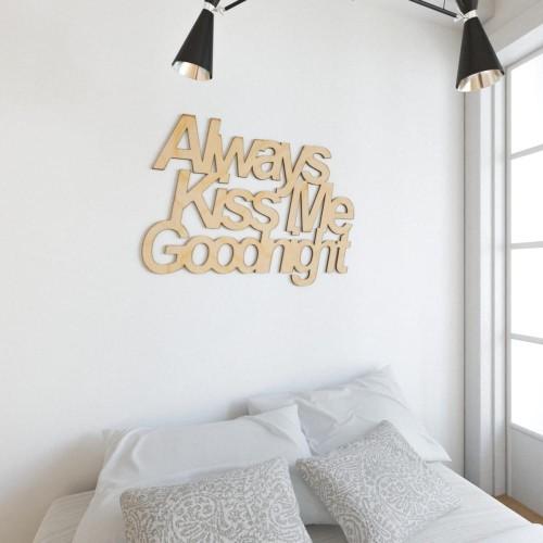 Świeże napisy na ścianę do pokoju dziecka - Pracownia 3dekoracje - Napisy EB68