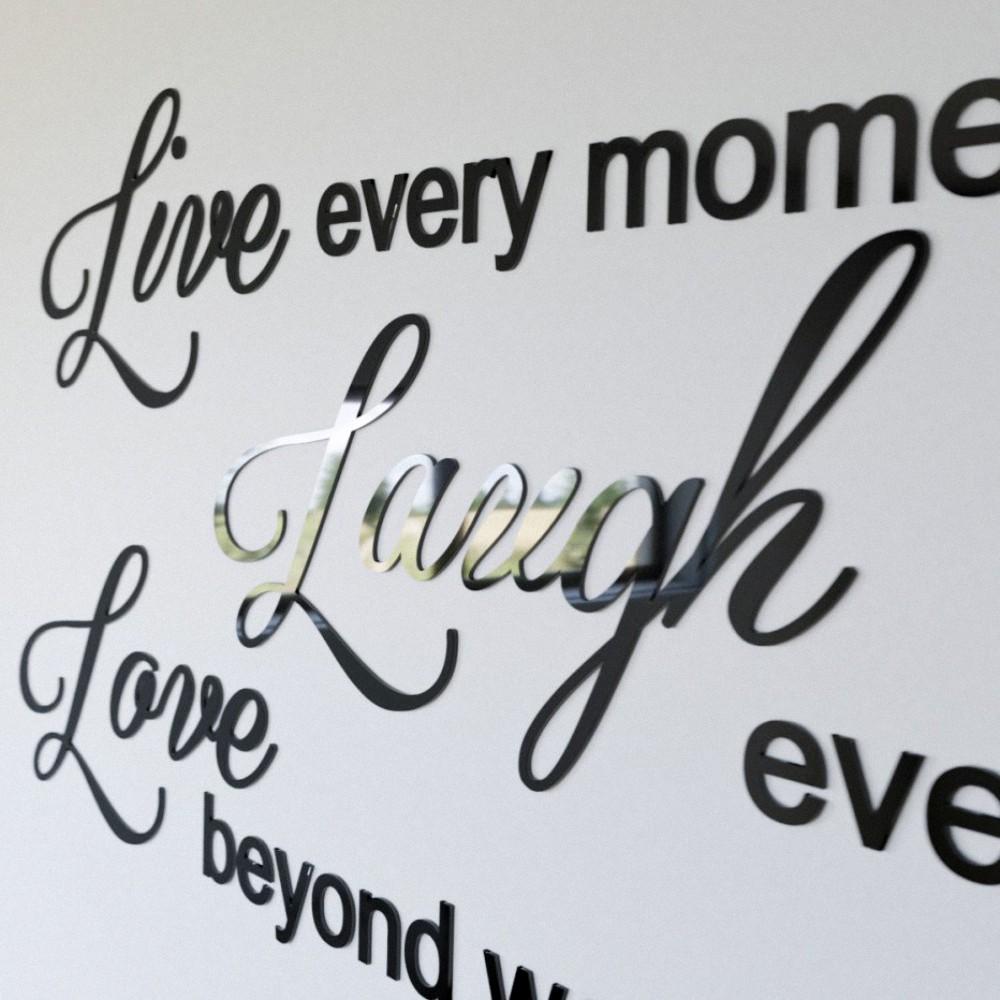 Dekoracyjne Napisy 3d Na ścianę Pracownia 3dekoracje