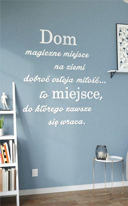 Napisy Na ścianę Ci Którzy W Tym Domu Bywają Pracownia